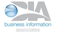 Business information associates logo